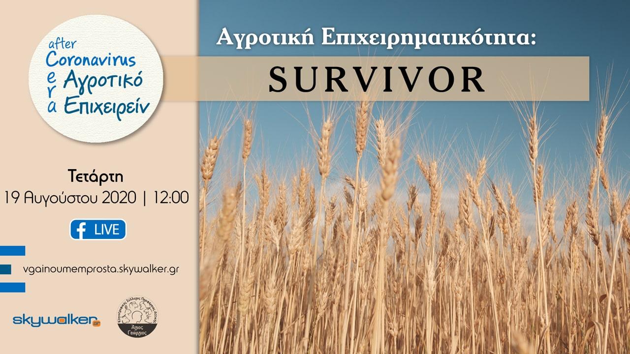 survivor agrotiki epixeirimatikotita